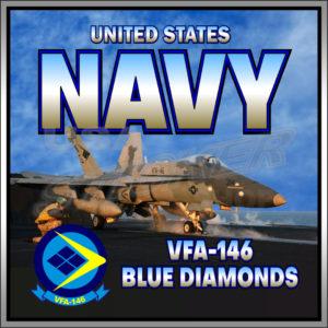 STICKER USN VFA 146 Blue Diamonds